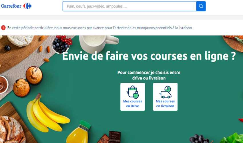 Top 10 Drupal Websites in Europe: Carrefour