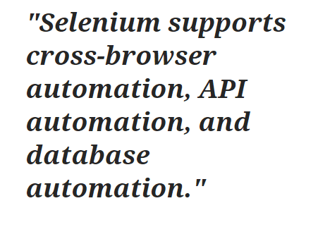 Top 5 Automation Testing Tools for Web Applications in 2020- Selenium