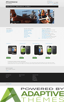 Free Drupal 7 eCommerce Themes- AT Commerce