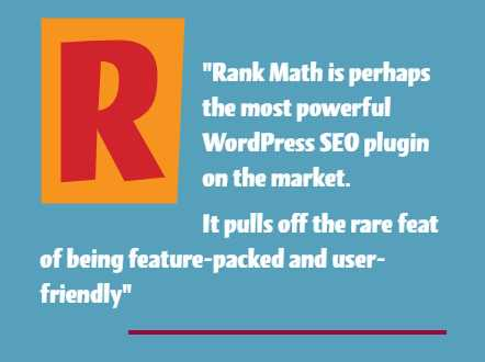 The Best Free SEO Plugin for WordPress- Rank Math