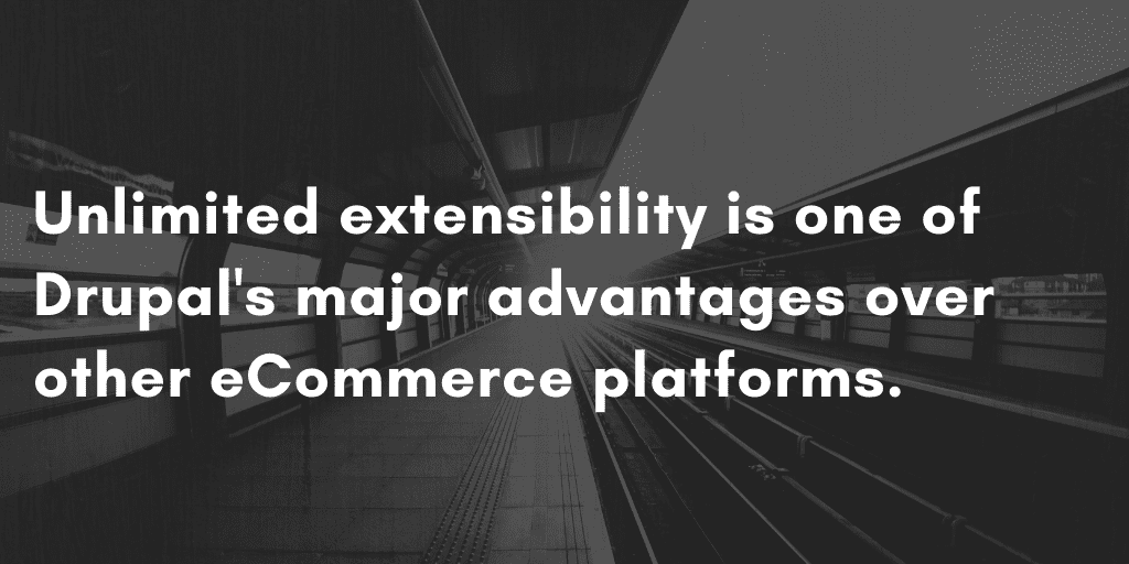 Is Drupal Good for eCommerce? Unlimited Extensibility