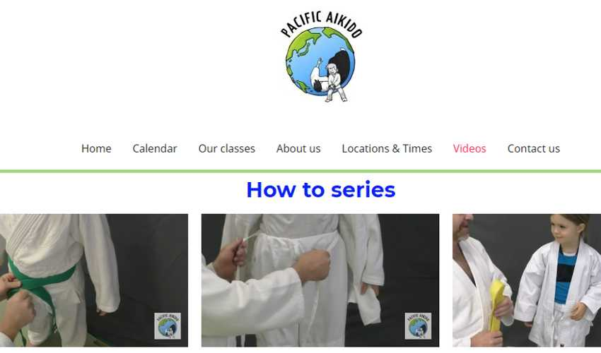 Top 10 Drupal Websites in Asia: Pacific Aikido