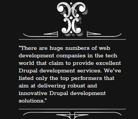 OPTASY Featured in the Best Drupal Development Awards