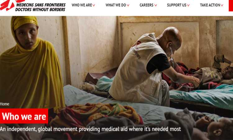 Top 10 Nonprofit Websites Built with Drupal: Doctors Without Borders