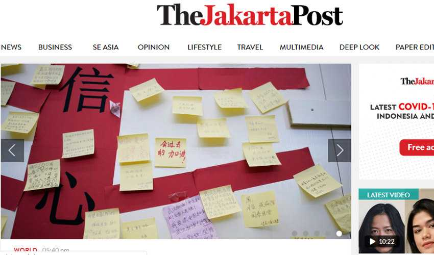 Top 10 Drupal Websites in Asia: The Jakarta Post