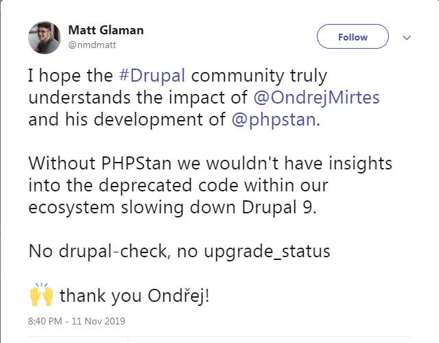 How to Prepare for Drupal 9: PHPStan and PHPStan-Drupal