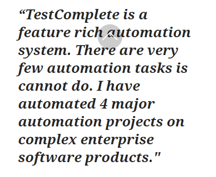 Top 5 Automation Testing Tools for Web Applications in 2020- TestComplete
