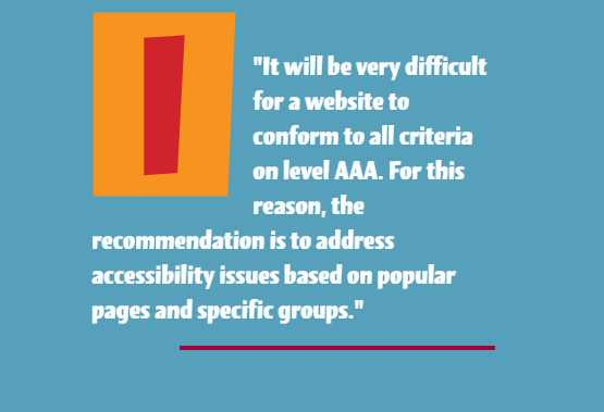 How to Prioritize Your List of Web Accessibility Issues: Focus on Key Page