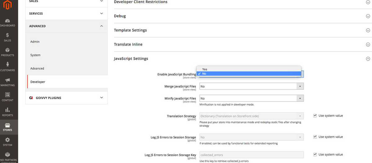 Speed Up your Magento 2 Store on Mobile: Disable JS Bundling