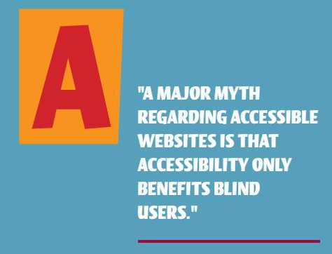 Why is accessibility important? Because it improves the user experience for... all users