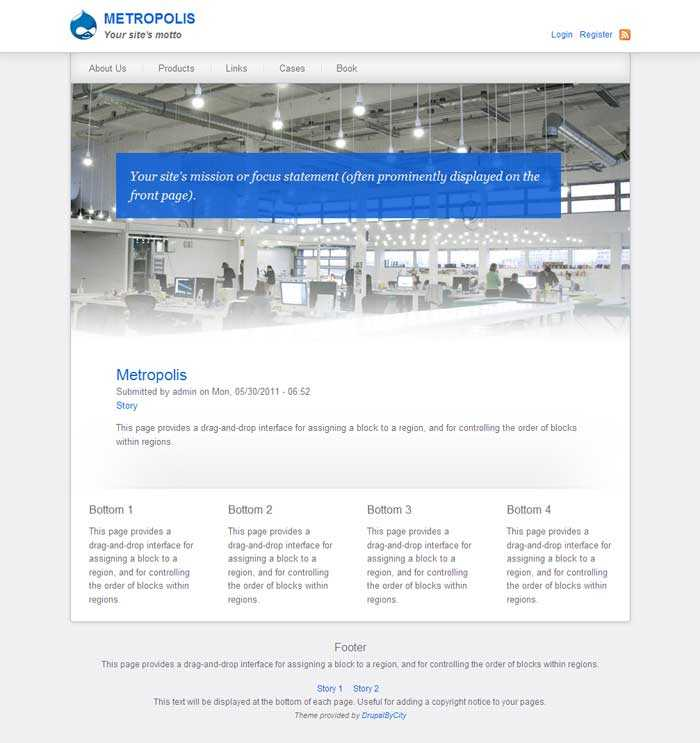 Free Drupal 7 Ecommerce Themes Which Are The Best 5 Optasy