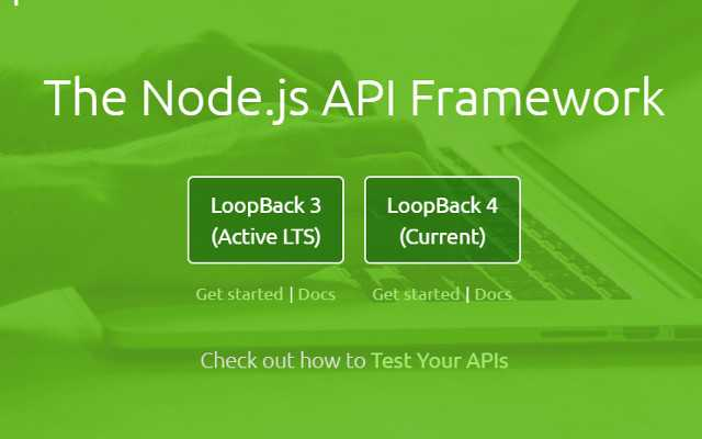 The 5 Best Node.js Frameworks in 2019: LoopBack.js